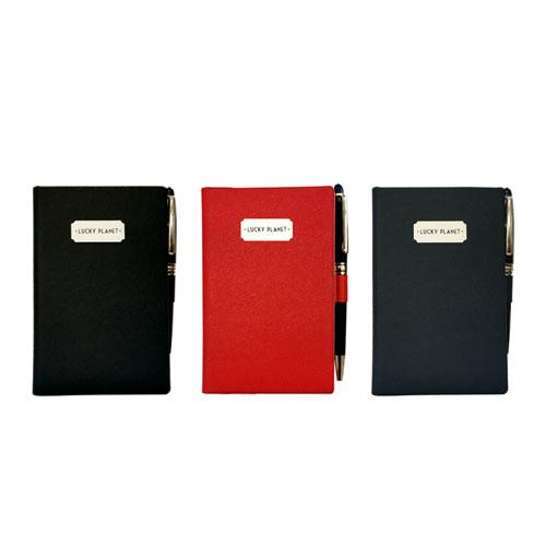 [LP_이니셜무료각인]모던 새티스팩션 다이어리&여권케이스